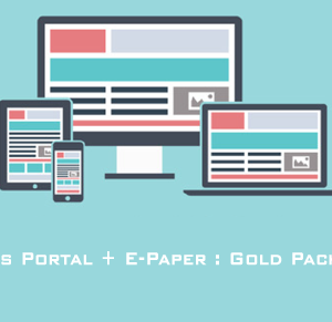 News Portal and E Paper Website Designing Services.