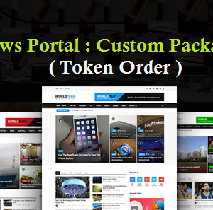 Order Website Service by token amount