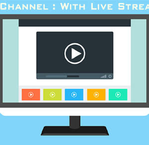 Video News Portal : With Live Video Streaming